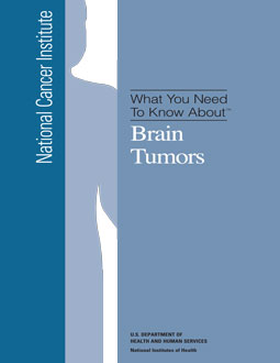 Alternative Brain Cancer Treatment FREE Report - click here to download, view and print What You Need to Know About Brain Tumors.