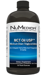 MCT Oil NuMedica - Alternative cancer treatment strategies